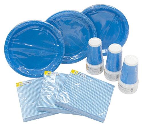 Vasos Azules Desechables