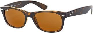 Ray-Ban Unisex-Adultes Nouveau Wayfarer Ray-Ban Nouveau Wayfarer Lunettes de soleil, RB 2132 52 710 52 mm Tortoise,Brown B-15
