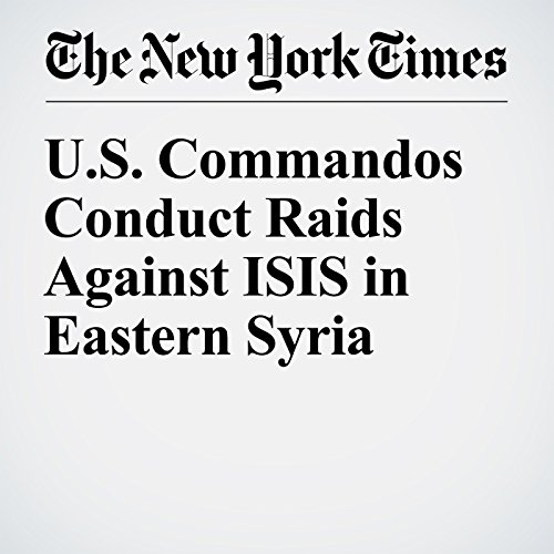 U.S. Commandos Conduct Raids Against ISIS in Eastern Syria cover art