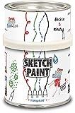 MagPaint - Pintura para crear pizarra (0,5 L), color transparente