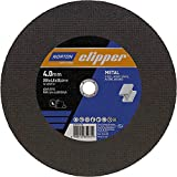 Norton Disco de corte de metal A24R, 350 x 4,0 x 25,4 mm