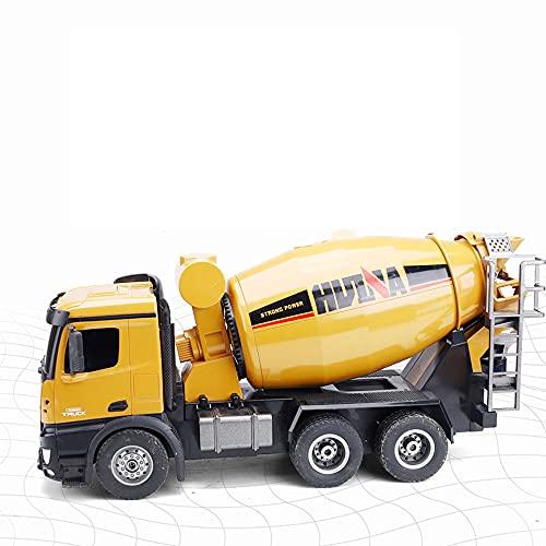 1/14 Camión de ingeniería de control remoto 10 canales Mezclador de cemento...