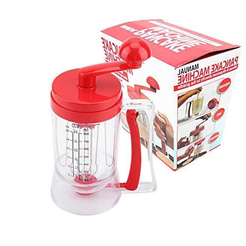 Handheld Manual Pancake Batter Dispenser - Great for Baking,Cupcakes, Muffins-Cooking Crepes,Waffles,Cooking Crepes and Waffles,900ml(32OZ)