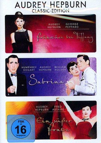 Audrey Hepburn, Classic-Edition (1. Frühstück bei Tiffany, 2. Sabrina, 3. Ein süßer Fratz)
