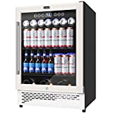 COLZER 24 Inch Beverage Refrigerator,193 Cans of High-Capacity,Freestanding and Built-in Counter...