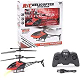 Durable Remote Control Helicopter Toys, Mini RC Helicopter for Kids 2 Channel Altitude Hold RC Aircraft, High&Low 2 Speeds 2.4 GHz Indoor Drones Toy Gift for Boys Kids and Hobby Beginner Hobby