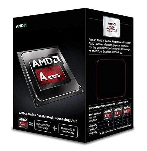 AMD A Series A6-6400K - Procesador (AMD A6, 3,9 GHz, Socket FM2, DDR3-SDRAM, 1866 MHz, AMD Radeon HD 8470D)