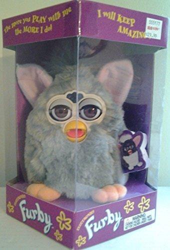 Furby Silver Gray 1999 Original by Furby