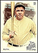2019 Allen and Ginter Baseball #3 Babe Ruth New York Yankees Official MLB Trading Card From Topps
