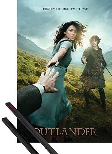 1art1 Outlander Póster (91x61 cm) Reach Y 1 Lote De 2 Varillas...