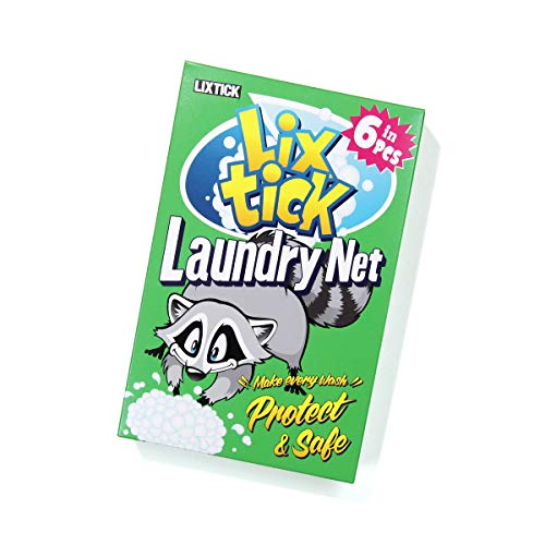 LIXTICK LAUNDRY NET | ランドリーネット 6枚組 洗濯ネット ギフトパッケージ付き