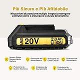 Zoom IMG-2 topelek lithium battery 20v max