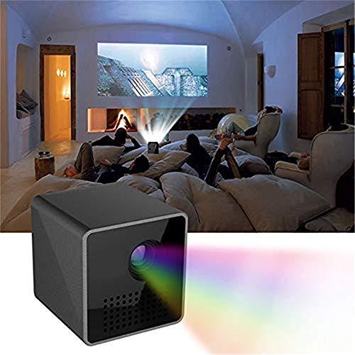 ZGHOME Minihauptendoscope HD-Projektor, Tragbare DLP Klein Home Entertainment-Projektor, Video Projector UNIC P1 + H WiFi Für Familie/Konferenz