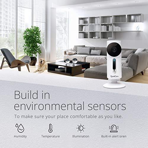 SpotCam 1080P Full-HD IP-Kamera – WLAN-Überwachungskamera Indoor mit Smart Home Integration - 3