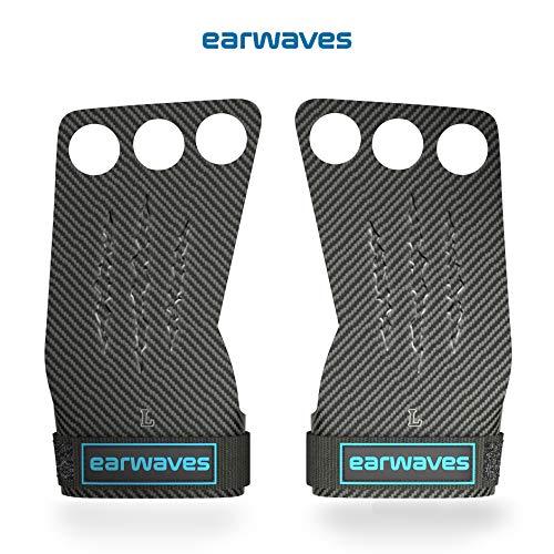 Earwaves  Carbon Spino Grips - Crossfit Handschuhe für Damen & Herren. Hand Grips für Calisthenics, Fitness, Gewichtheben, Gymnastik,...