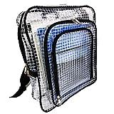 world Imp JP エンジニアバッグ 透明バッグ リュックタイプ 帯電 静電気 防止 クリーンバック クリーンルーム 用 ノートパソコン タブレット ipad A4ファイル