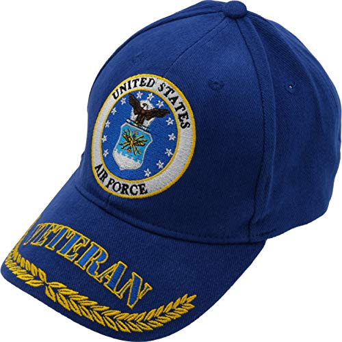 Findingking U.S. Air Force Bonnet Veteran Bleu