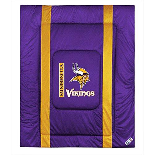 NFL Minnesota Vikings Twin Sideline Comforter