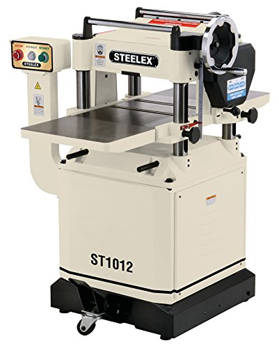 """Steelex ST1012 Planer with Helical-Style Cutter head, 15"""""""