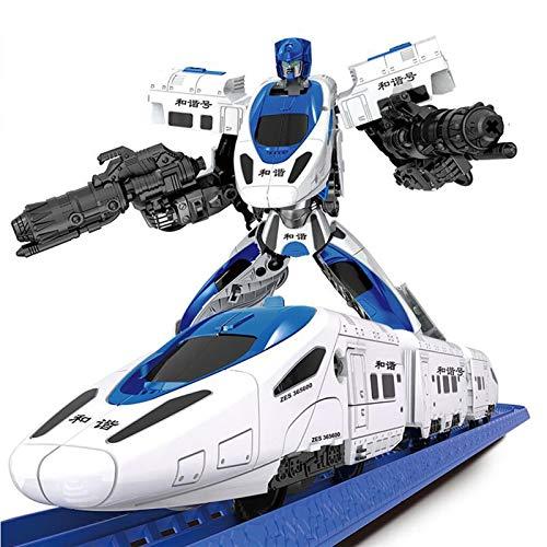 Transforme El Robot Del Coche, La Deformación Del Robot Modelo De Juguete...