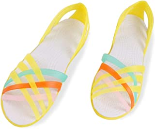 Shoes Rianbow Summer Sandals Female Flat Shoe Casual Ladies Slip On Woman Candy Color Peep Toe Beach Shoes