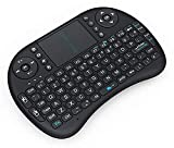 Frittle DF-33 Mini 2.4Ghz Wireless Portable Bluetooth Touch pad Keyboard with USB Drive