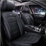 Coprisedili per Auto Personalizzati Adatti per Suzuki Grand Vitara 1997-2018 Protezione per sedili Anteriori Pelle Artificiale Impermeabile con airbag Coprisedili per 2 posti compatibili Beige