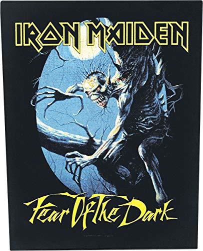 Unbekannt Iron Maiden Fear Of The Dark Backpatch Mehrfarbig