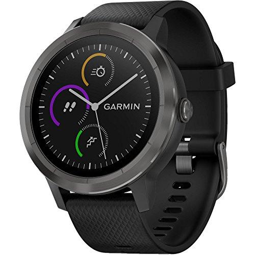 Garmin Vívoactive 3 GPS Vivoactive Smartwatch W/ingebouwde sport apps & hartslagarmband - Black & Gunmetal