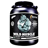 DREXSPORT - Wild Muscle - All Natural Muscle Builder, Whey Protein Powder - Blend of Whey Protein Isolate + Whey Protein Concentrate + Creatine HCL + BCAA + Glutamine - 2Kg Chocolate mass gainer bodybuilding Apr, 2021