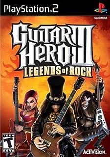 Guitar Hero III: Legends of Rock - PS2 (Renewed)