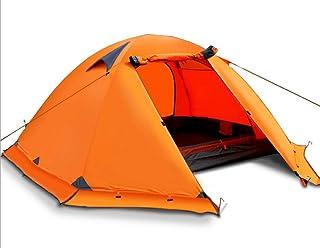 IDWOI-tält utomhustält, campingtält, dubbel dubbel dubbel aluminiumstång, anti-storm, resecampingbehov