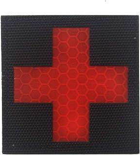 2 Stü Nähen Stickerei Rotes Kreuz Patches Kapitel Dekor Für Outdoor