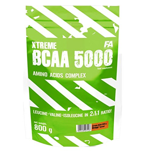 FITNESS AUTHORITY XTREME BCAA 5000 800 GR Arancio