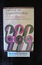 Notes of an Apprenticeship