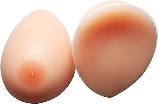 (姬の店)シリコンバスト 貼付式 人工乳房 おっぱい ブラジャー 偽胸 リアル コスプレ変装 補正 左右2個 選べるサイズ M(Aカップ)