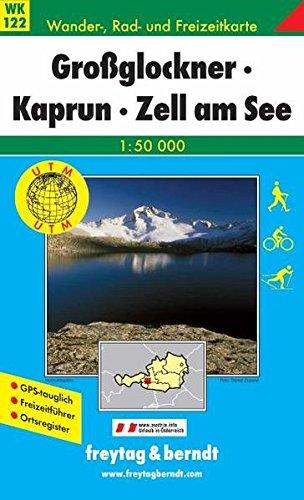 WK 122 Grossglockner, Kaprun, Zell am See 1 : 50000: Grossglockner, Kaprun, Zell Am See (Hiking Maps of the Austrian Alps)