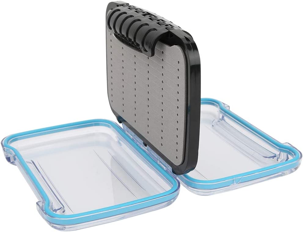 ZJchao Sales results No. 1 Fishing Box Fish Hook Containers Fly Storage Plastic Import Fi
