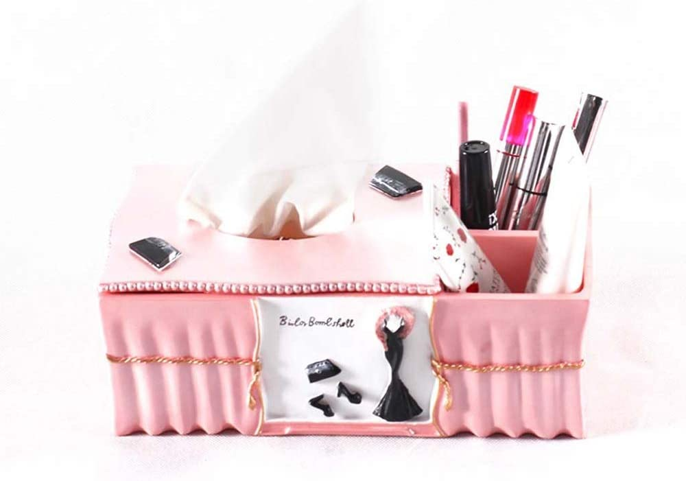 HEMFV Over item 55% OFF handling Facial Tissue Box Cover Holder Storage and C
