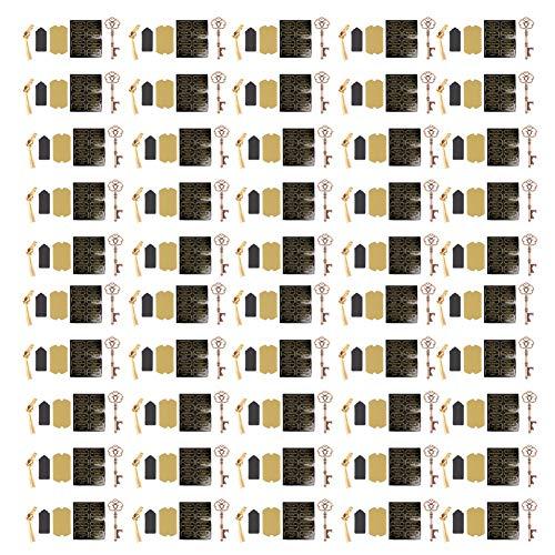 JULYKAI 50 Piezas de abridor de Botella de Cerveza de Estilo Europeo ecológico, abridor de Vino, Fiesta Resistente al Desgaste para(Type 1 (50pcs))