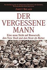 Der vergessene Mann (German Edition) Hardcover
