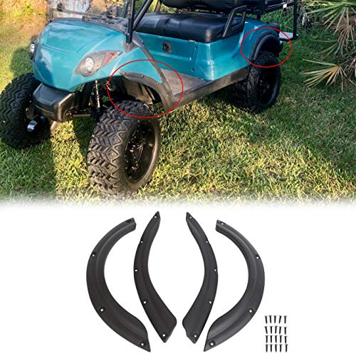 ECOTRIC Golf Cart Standard Fender Flares Front & Rear for YMAHA DRIVE/G29(Set of 4!!)
