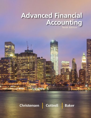 Loose Leaf Advanced Financial Accounting with Connect Access Card