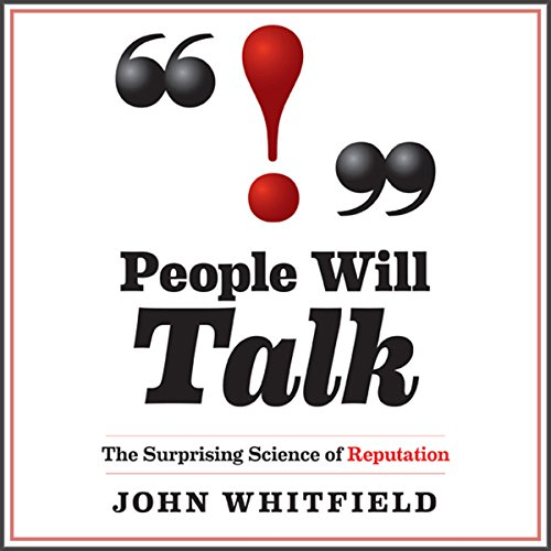 People Will Talk audiobook cover art