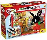 Lisciani 2 puzzles de 12 piezas, Bing 81233 - Rompecabezas para niños a partir de 3 años