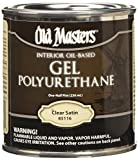 OLD 24979 Gel Polyurethane Thick Gelled Clear Satin Finish, 0.5 Pint
