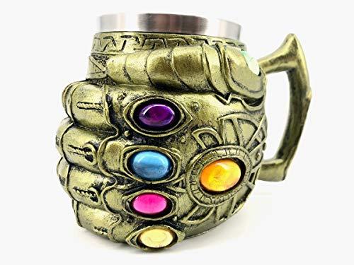 Caneca Thanos Manopla Do Infinito Luva Vingadores