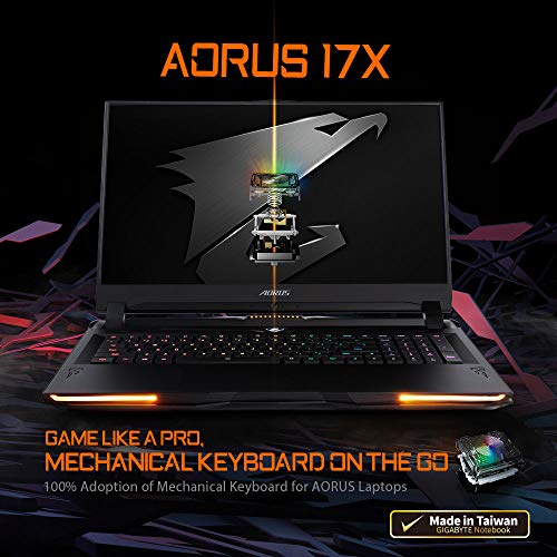 Compare Aorus Extreme (AORUS 17X YB-8US2450MP) vs other laptops