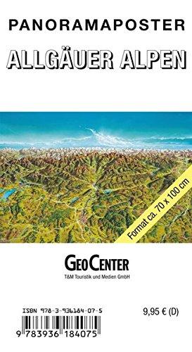 Allgäu Panoramakarte