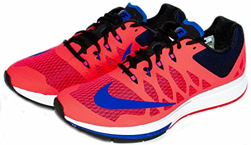 Nike Men's Air Zoom Elite 7 Running Shoe (9.5 D(M) US, Pink/Blue/White)